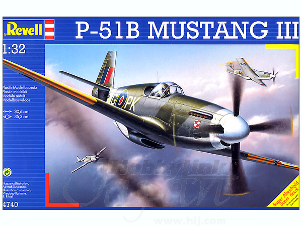1/32 P-51B Mustang III by Revell | HobbyLink Japan