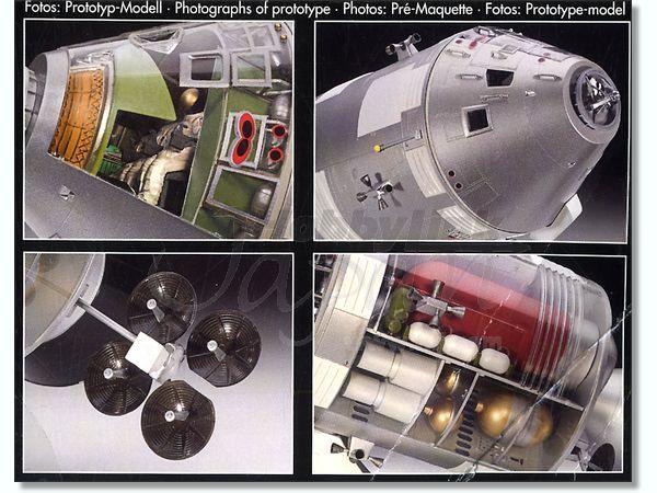 apollo spacecraft interior revell - photo #11