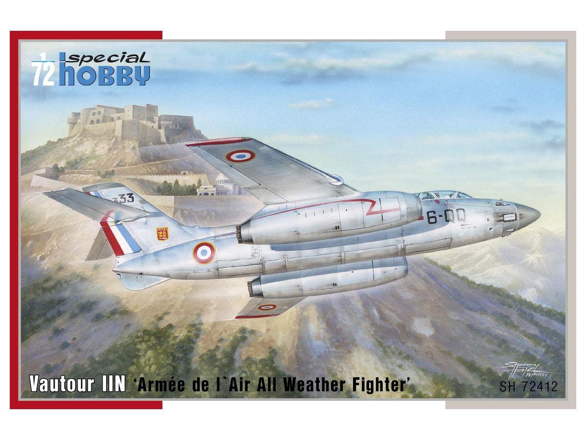 1/72 S.O.4050 ボートゥールIIN フランス空軍全天候戦闘機 by ...
