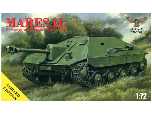 1/72 WW.II ルーマニア陸軍 駆逐戦車 マレシャル by ソヴァ-M | ホビー ...