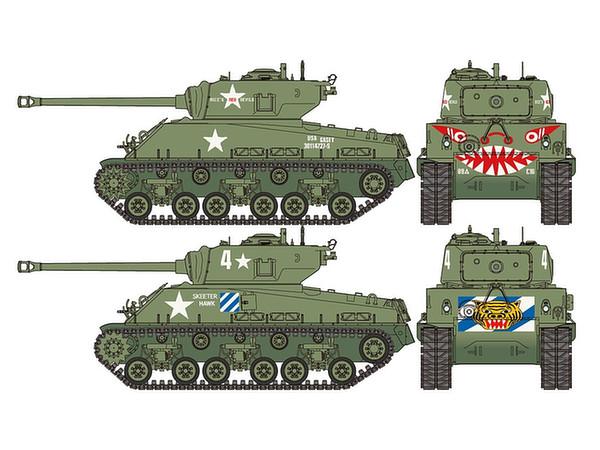 1/35 US Medium Tank M4A3E8 Sherman Easy Eight Korean War ...
