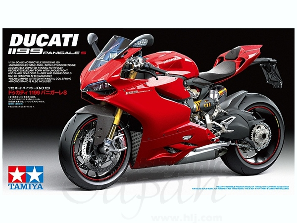1/12 Ducati 1199 Panigale S by Tamiya   HobbyLink Japan