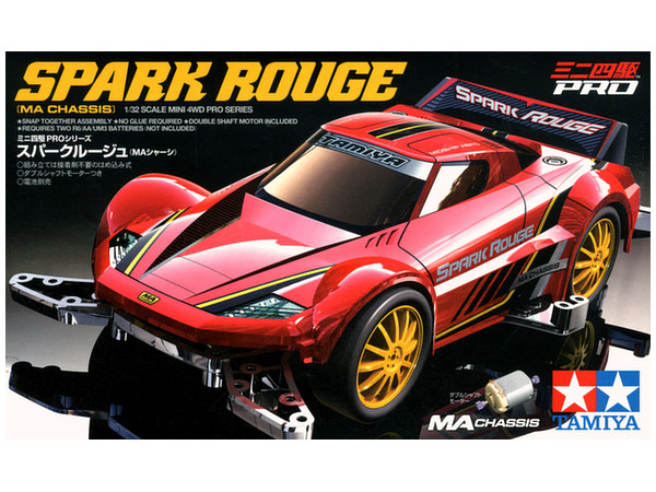 Mini 4wd Pro Spark Rouge Ma Chassis By Tamiya Hobbylink Japan