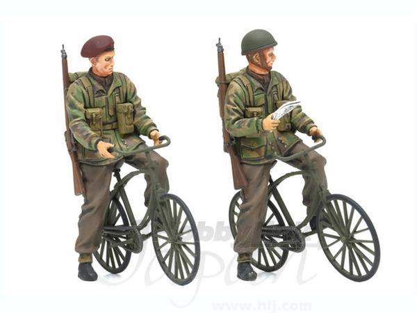 1/35 イギリス軍空挺兵自転車セ...