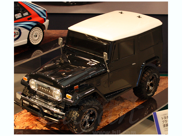 1/10 RC Toyota Land Cruiser 40 Black Special Painted Body (CC ...