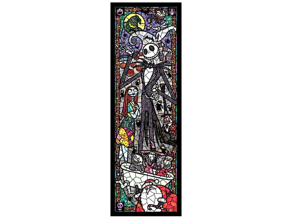 Disney Jigsaw Puzzle The Nightmare Before Christmas Stained Glass ...