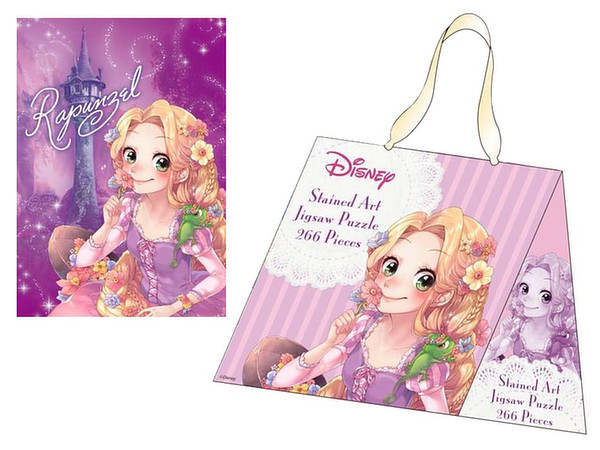 e10fd169181 Disney Stained Art Jigsaw Puzzle  Sweet Bag Collection - Rapunzel 266pcs ...