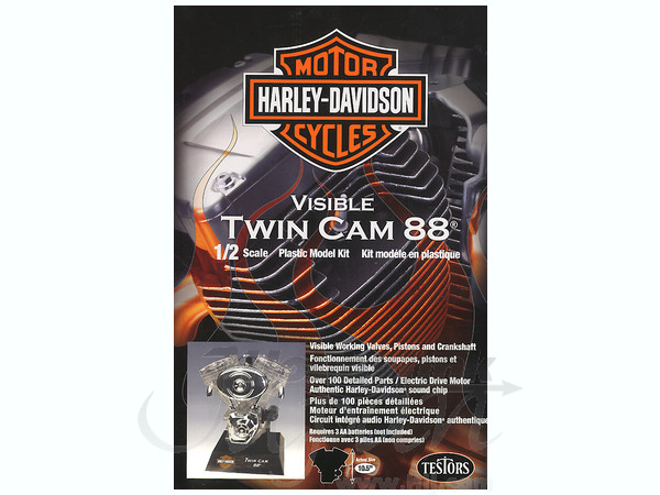 1/2 Visible Harley Twin Cam Engine