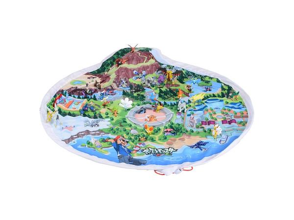 Patto okatazuke pokemon world map by takara tomy hobbylink japan patto okatazuke pokemon world map gumiabroncs Gallery