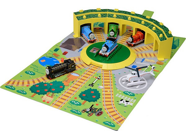 Thomas Tomica: Thomas & Friends Connecting 3D Map Roundhouse ...