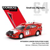 1/64 Mitsubishi Lancer Evolution VI WRC New Zealand Rally 1999 Winner ドライバー:Makinen / Mannisenmaki