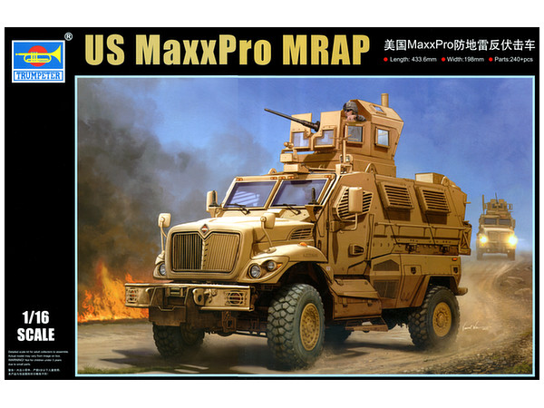 1/16 US Maxx Pro MRAP by Trumpeter | HobbyLink Japan