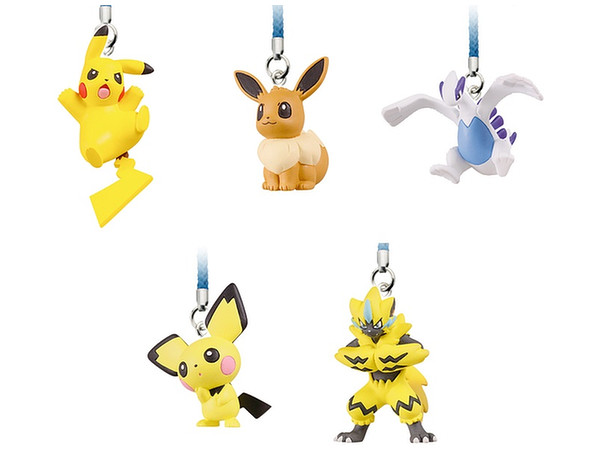 d57be89210e9 Pokemon Netsuke Mascot MOVIE 21st ver. 1 Box 10pcs