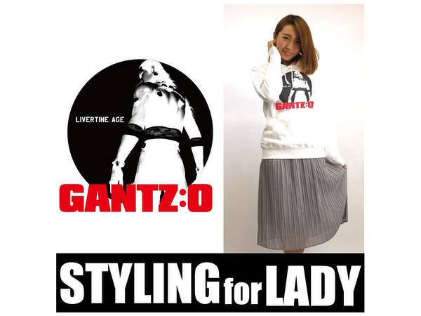 ... LIVERTINEAGE x GANTZ:O Collaboration Parka SHADOW White S