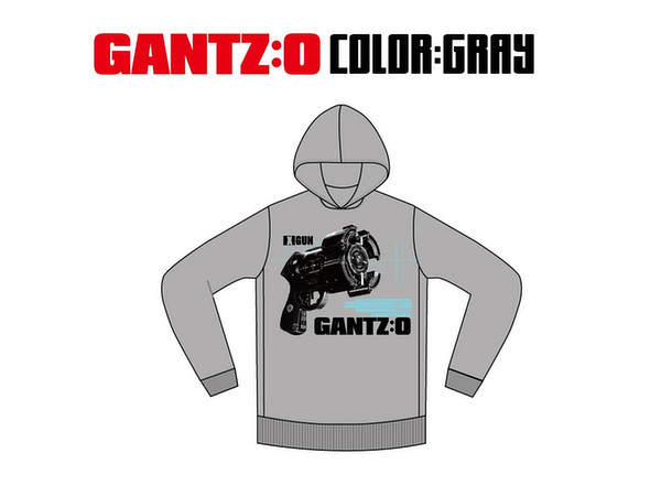 LIVERTINEAGE x GANTZ:O Collaboration Parka GUN Gray M ...