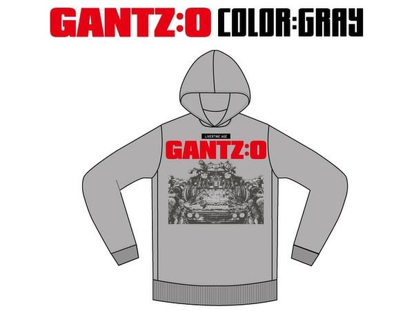 LIVERTINEAGE x GANTZ:O Collaboration Parka ROBOT Gray S ...