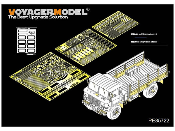 1/35 Modern Russian GAZ-66 Cargo Track Basic Parts (For ...