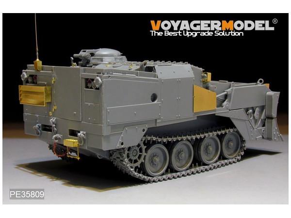 1/35 Modern U S  M9 ACE Armored Combat Earthmover Detail Parts (Takom)